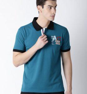 Morgan Fashion Polo - Peacock Blue