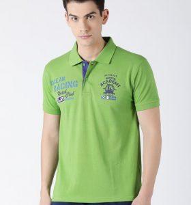 Carlos Fashion Polo - Kiwi Green