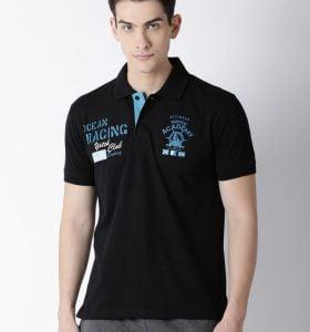 Carlos Fashion Polo - Black