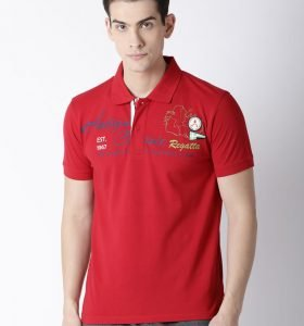 Roger Fashion Polo - Cherry Red
