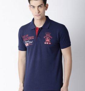 Carlos Fashion Polo - Navy Blue