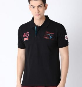 Lucas Fashion Polo - Black