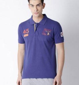 Lucas Fashion Polo - Royal Blue