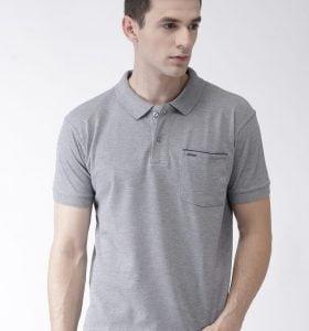 Pocket Polo - Grey Melange