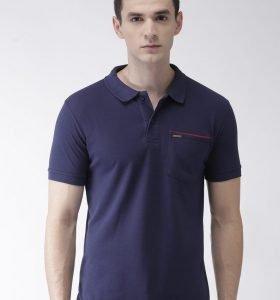 Pocket Polo - Navy Blue