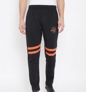 Solid Men Fashion Track Pants - Black