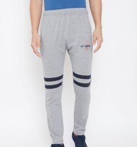 Solid Men Fashion Track Pants - Grey Melange