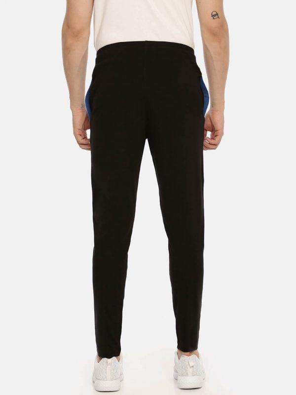 Track Pants For Men - Men Super Premium Track - Back - Black