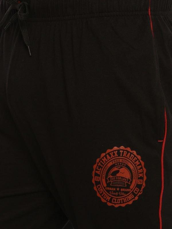 Track Pants For Men - Ultra Comfort Track - Black