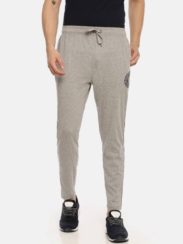 Track Pants For Men - Ultra Comfort Track - Front - Grey