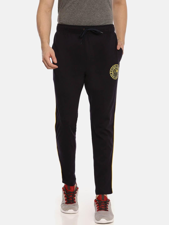 Track Pants For Men - Ultra Comfort Track - Front - Navy Blue