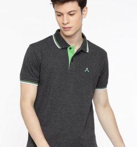Style Polo - Charcoal Melange