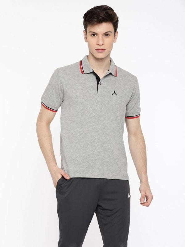Polo T Shirts Online - Style Polo - Grey