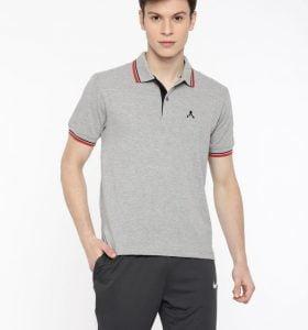 Style Polo - Grey Melange