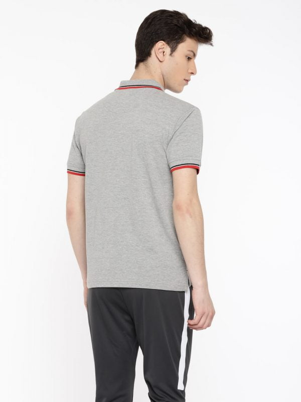 Polo T Shirts Online - Style Polo - Back - Grey