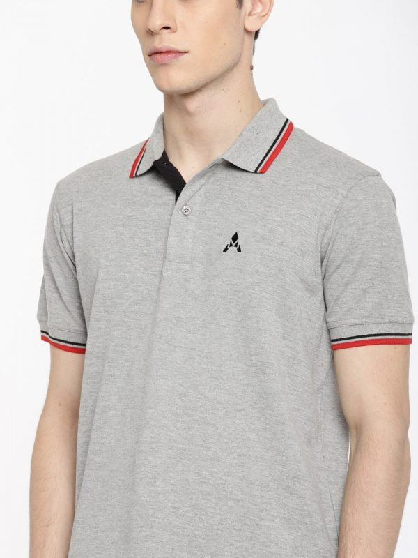 Polo T Shirts Online - Style Polo - Front - Grey