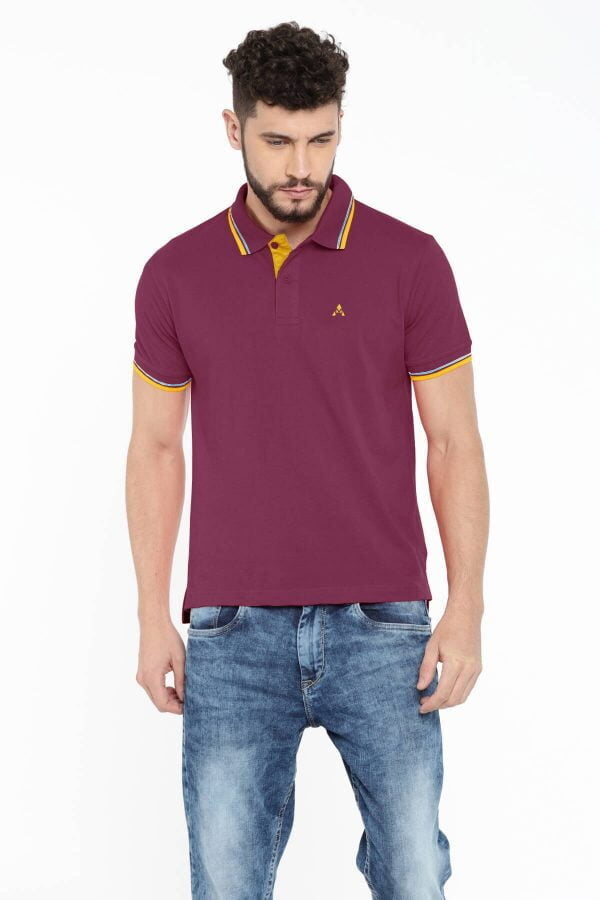 Polo T Shirts Online - Style Polo - Magenta