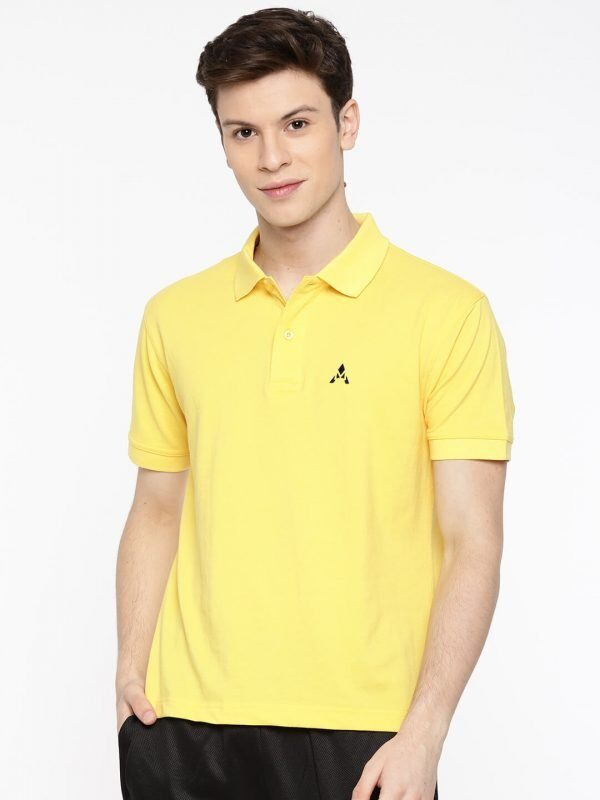 Polo T Shirts Online - Core Polo - Front - lemon