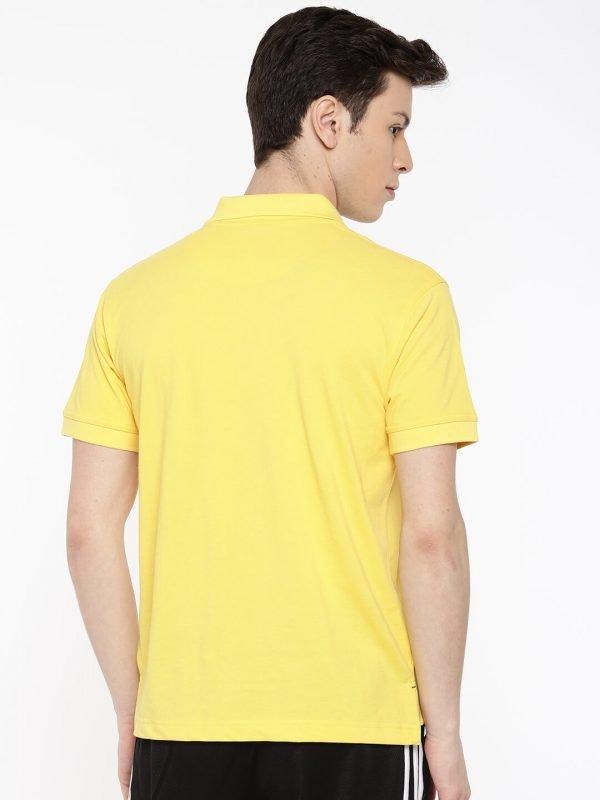 Polo T Shirts Online - Core Polo - Back - lemon