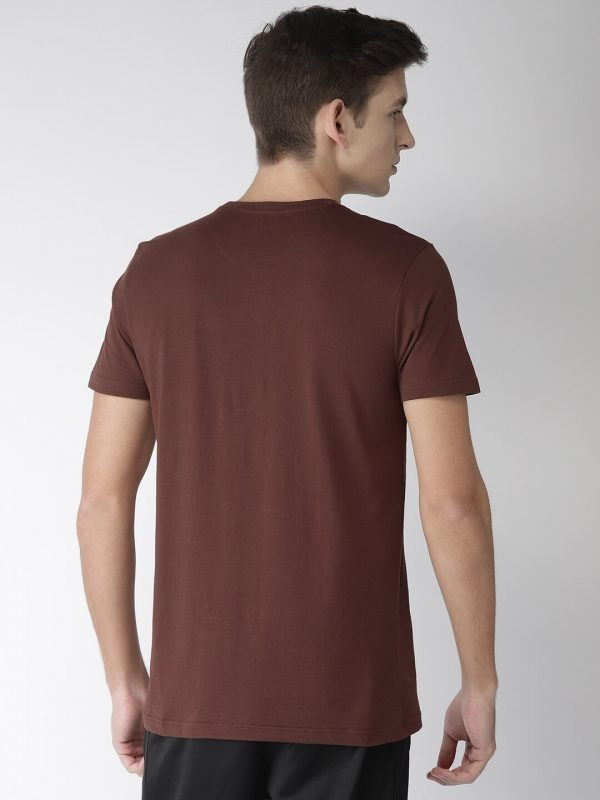 Round Neck T Shirt For Men - Authentic - Back - Andra