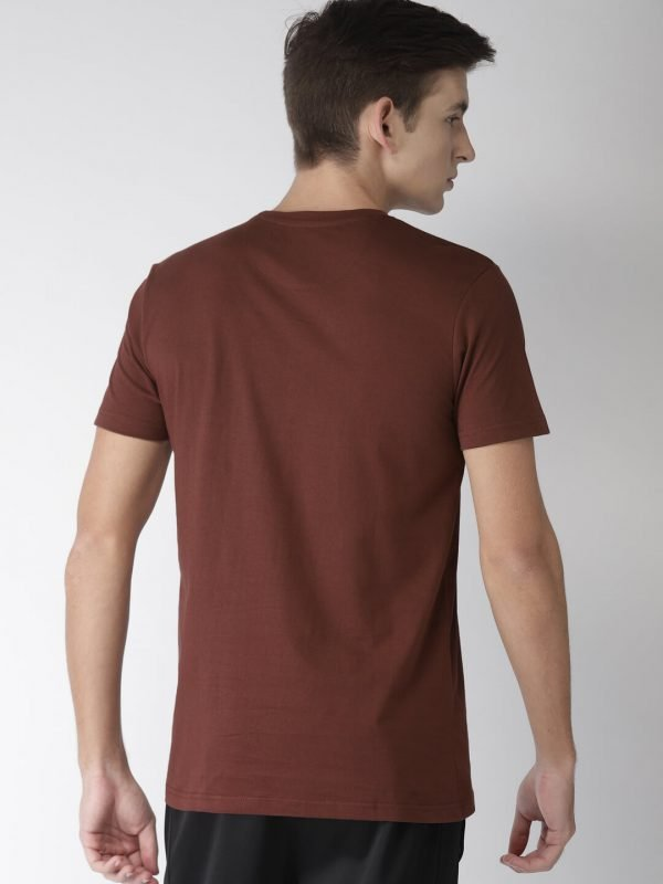 Round Neck T Shirt For Men - Freedom - Back - Andra