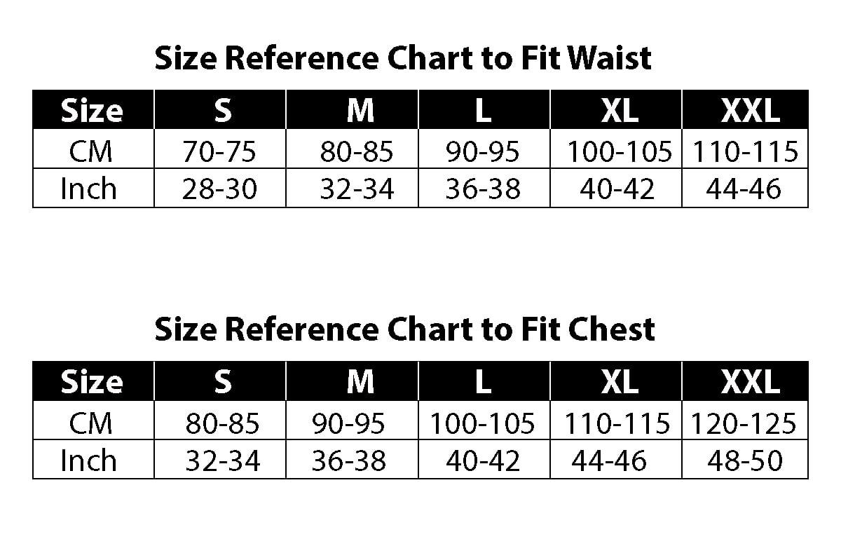 Size Chart - Actimaxx