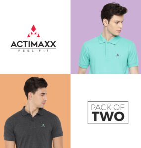 Polo Tshirts Online - Core Polo - 2PC - Turquoise - Charcoal