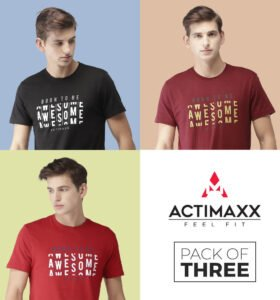 Awesome - Combo Pack Of 3 - Haute Red, Ruby Wine, Black